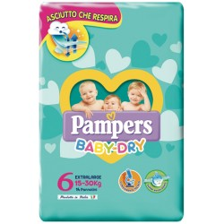Fater Pampers Baby Dry Dwct...