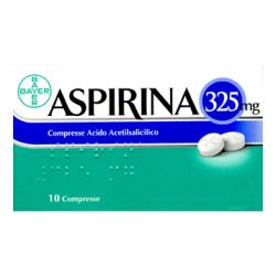 Aspirina 325mg 10 Compresse