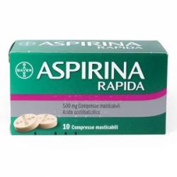 Aspirina Rapida 500mg 10...