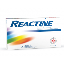 Reactine 5mg+120mg 6...