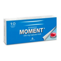 Moment 200 Mg 10 Capsule Molli