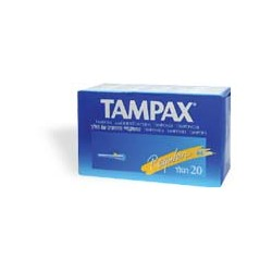 Fater Tampax Blue Box...