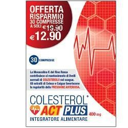 F&f Colesterol Act Plus 30...