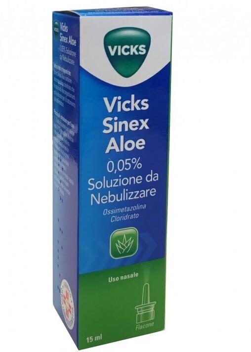 Vicks Sinex Aloe Spray Nasale 15ml